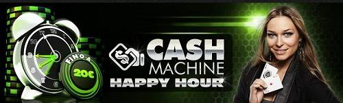 cash machine happy hour netbet poker