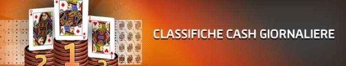 Classifica pokercash giornaliere Gioco Digitale