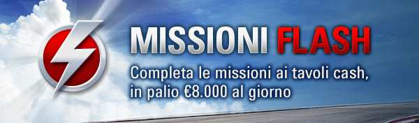 Flash Missions PokerStars