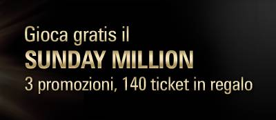 Gioca Gratis il Sunday Million