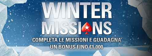 pokerstars winter missions