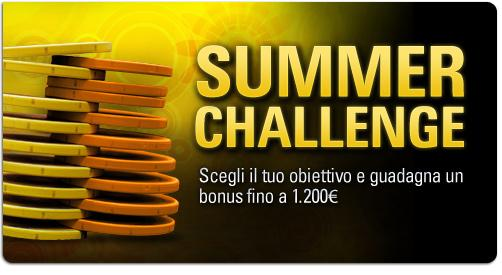summer challenge pokerstars