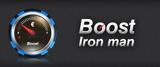 Boost iron man di TitanBet Poker