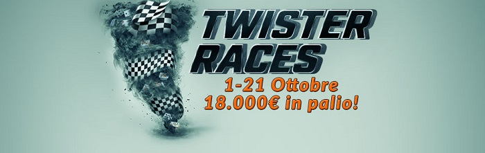twister races classifiche eurobet ottobre 2018
