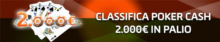 classifiche poker cash gioco digitale