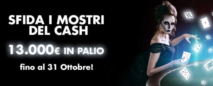lottomatica cash halloween