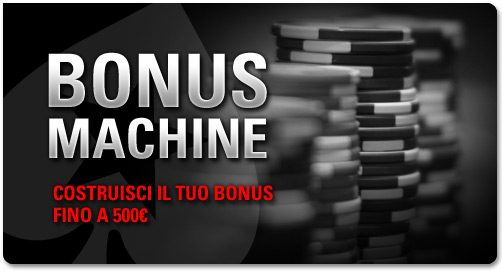bonus machine pokerstars