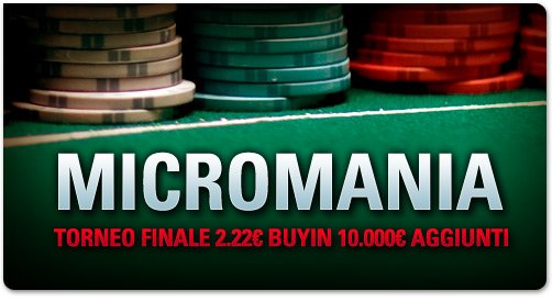 micromania pokerstars