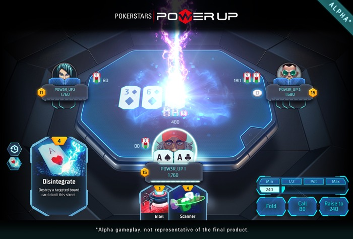 pokerstars powerup alpha disintegrate