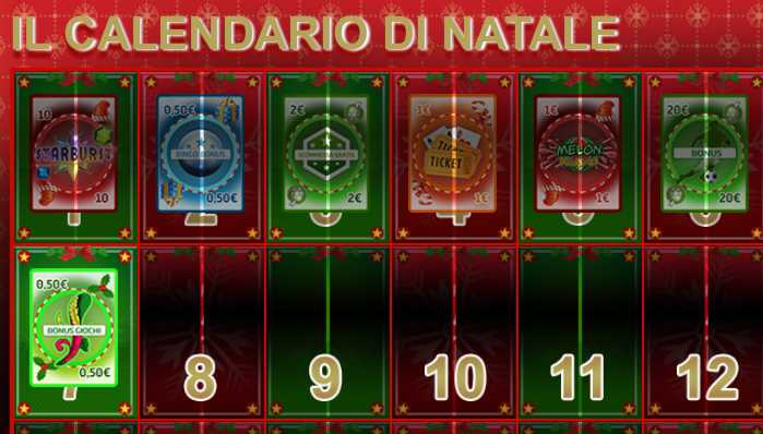 calendario natale gioco digitale