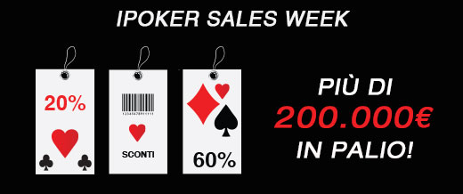 ipoker sales week