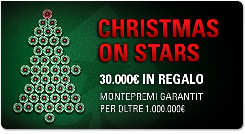 christmas on stars pokerstars
