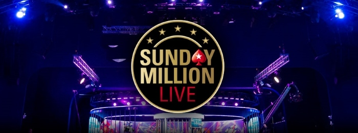 sunday million live pokerstars