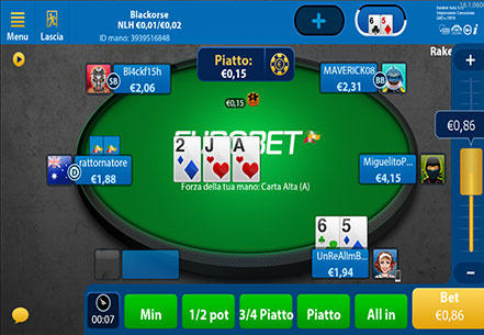 eurobet poker android